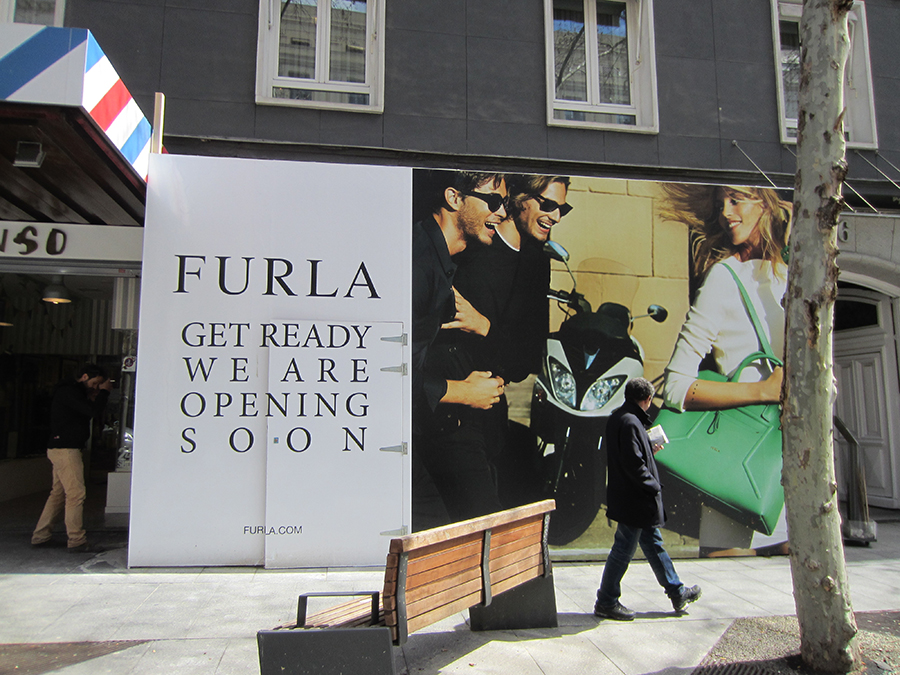Nueva tienda de FURLA en la calle Serrano de Madrid