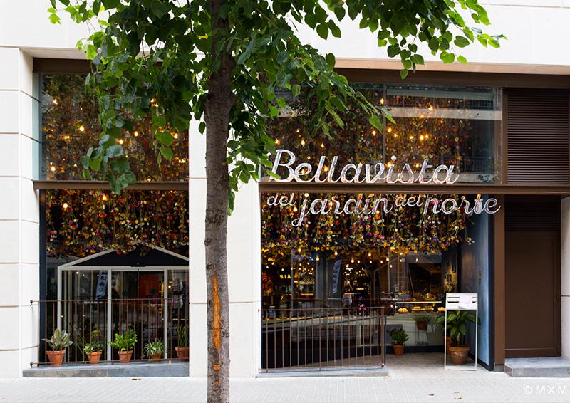 4retail ha construido el restaurante bellavista jard n del for Bellavista jardin del norte