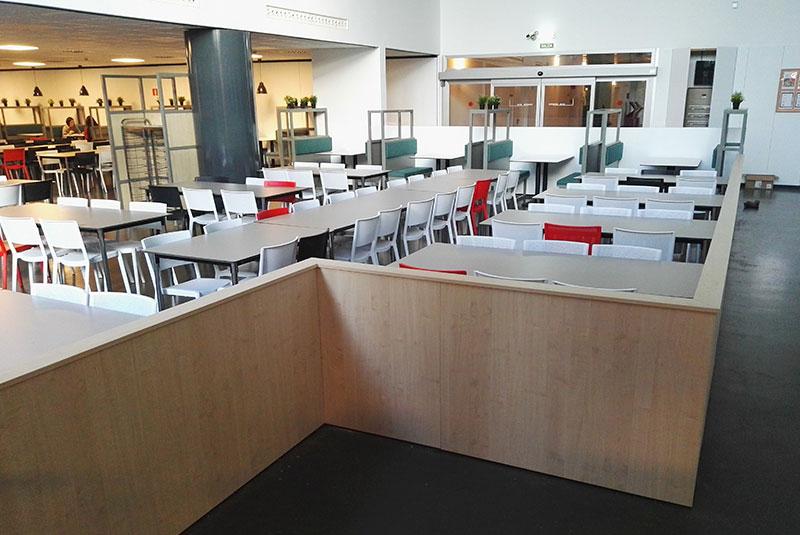 Comedor sede central Movistar