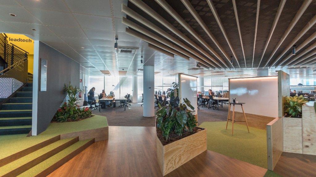 Oficinas Lead Tech Barcelona construidas por 4Retail