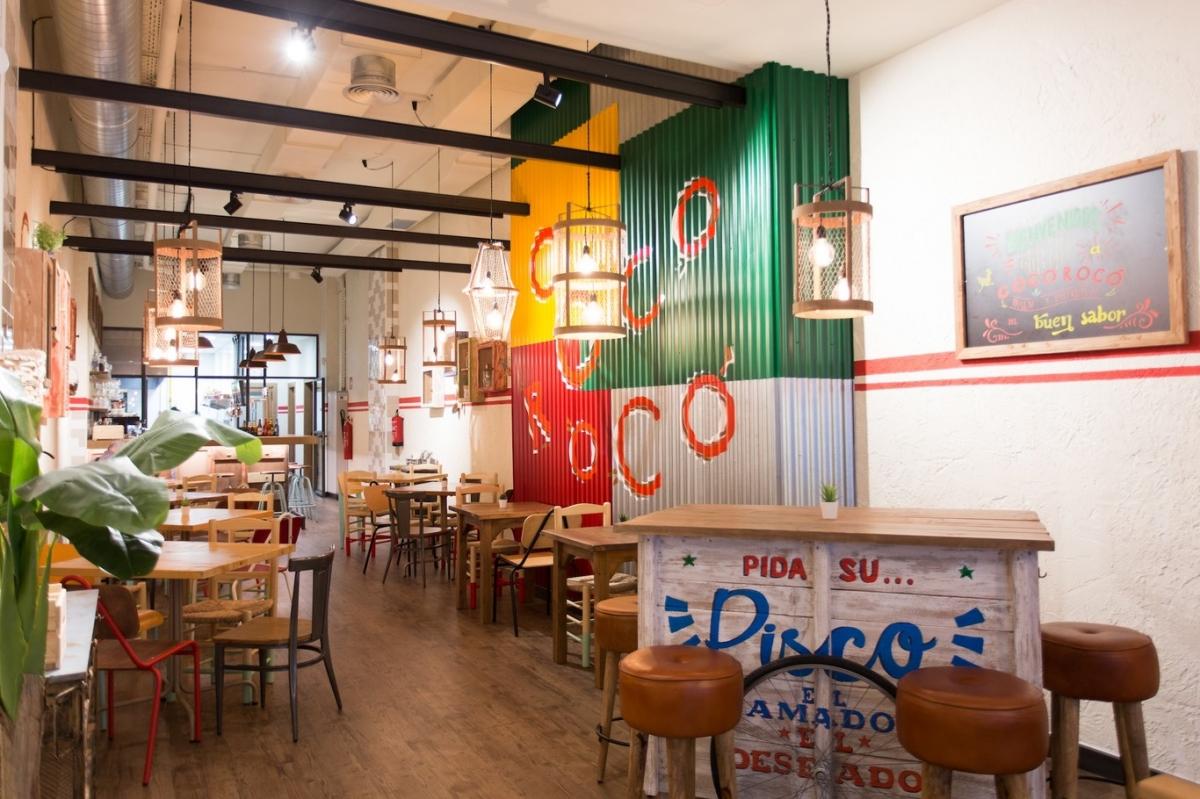 4retail construye restaurante Corococo