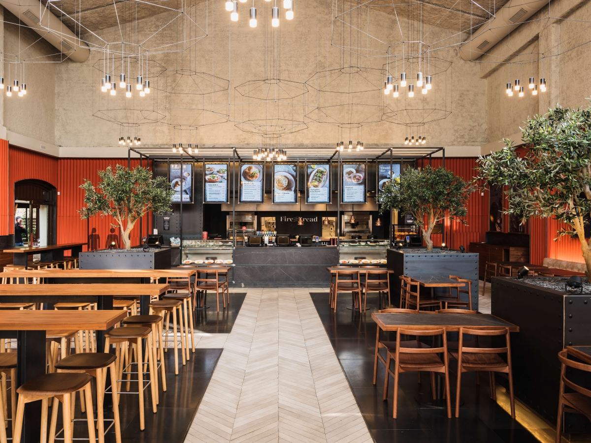 4Retail builds Fire & bread restaurant